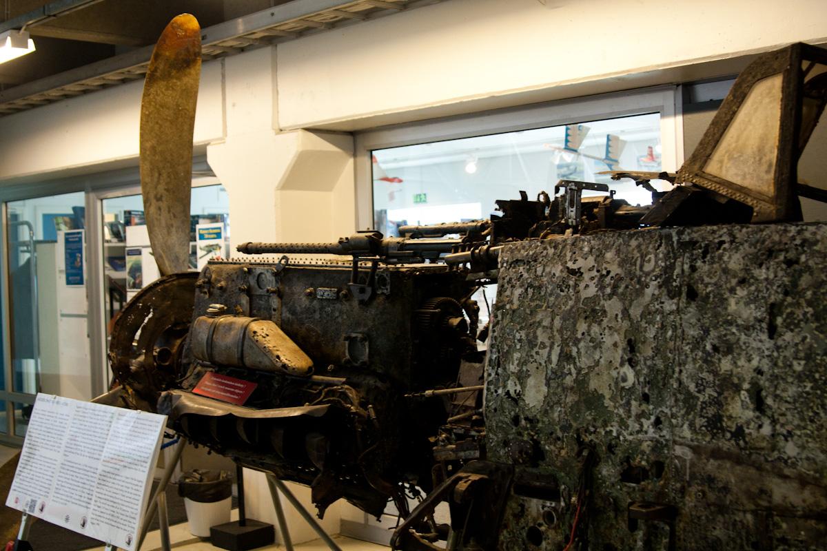 Остатки жутко невезучего Bf-109G