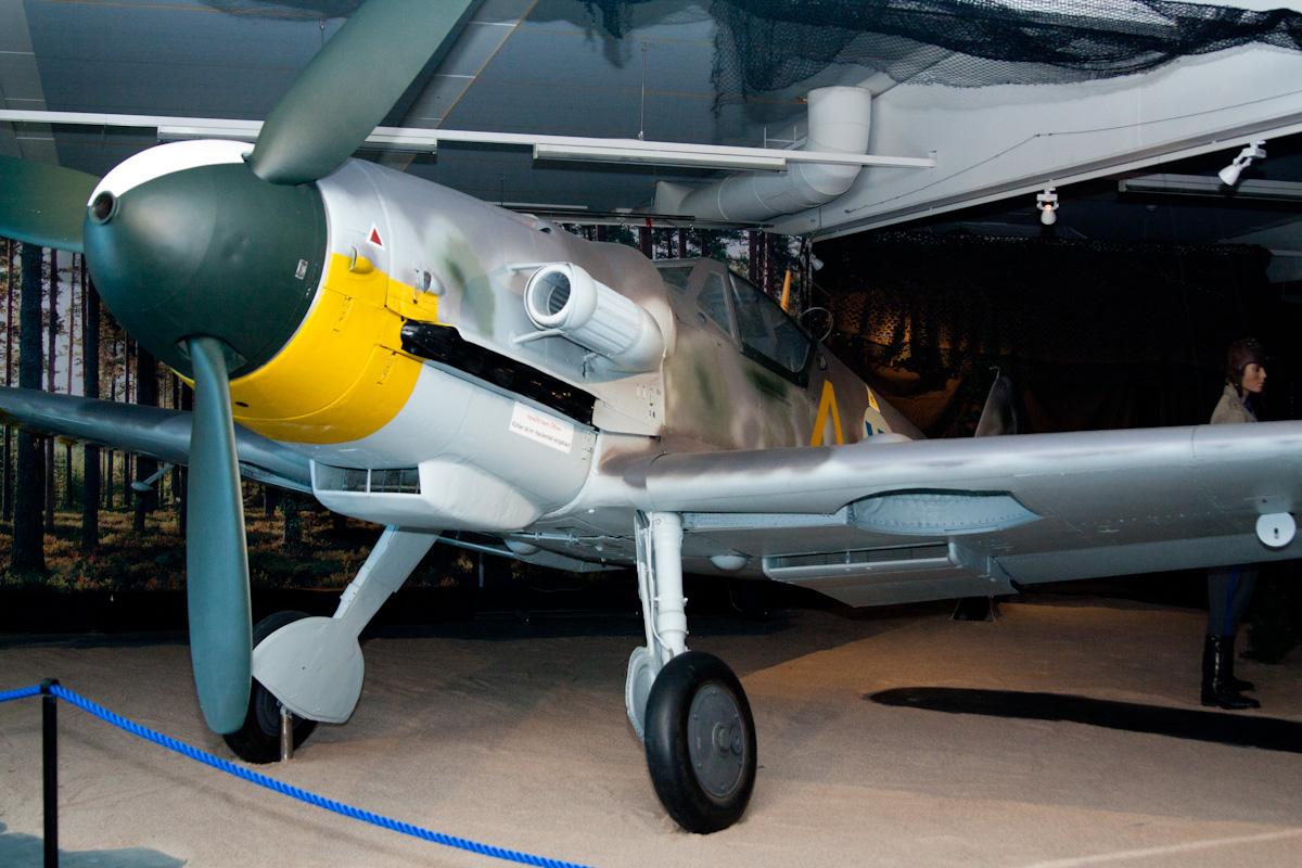 Целёхонький BF-109