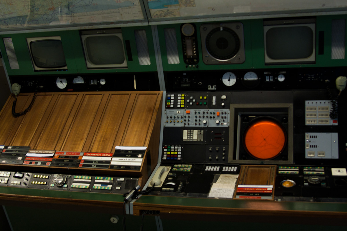 Старое рабочее место авиадиспетчера