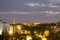 Ночной Хельсинки из окна отеля