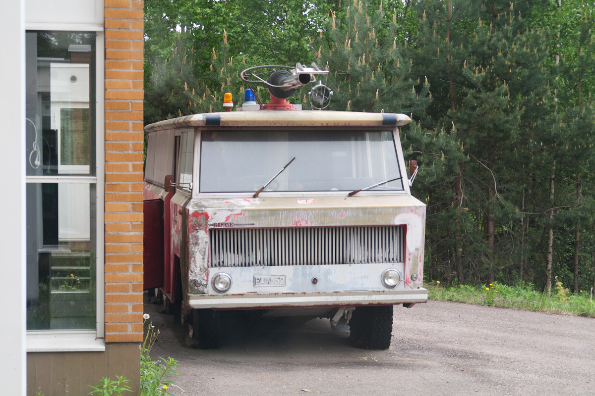 Ещё одна старая пожарная машина