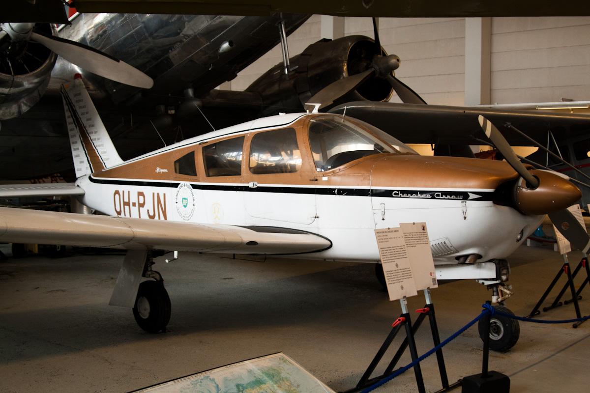 Piper Cherokee Arrow, побывавший на пяти континентах