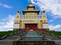 Обитель Будды в Элисте